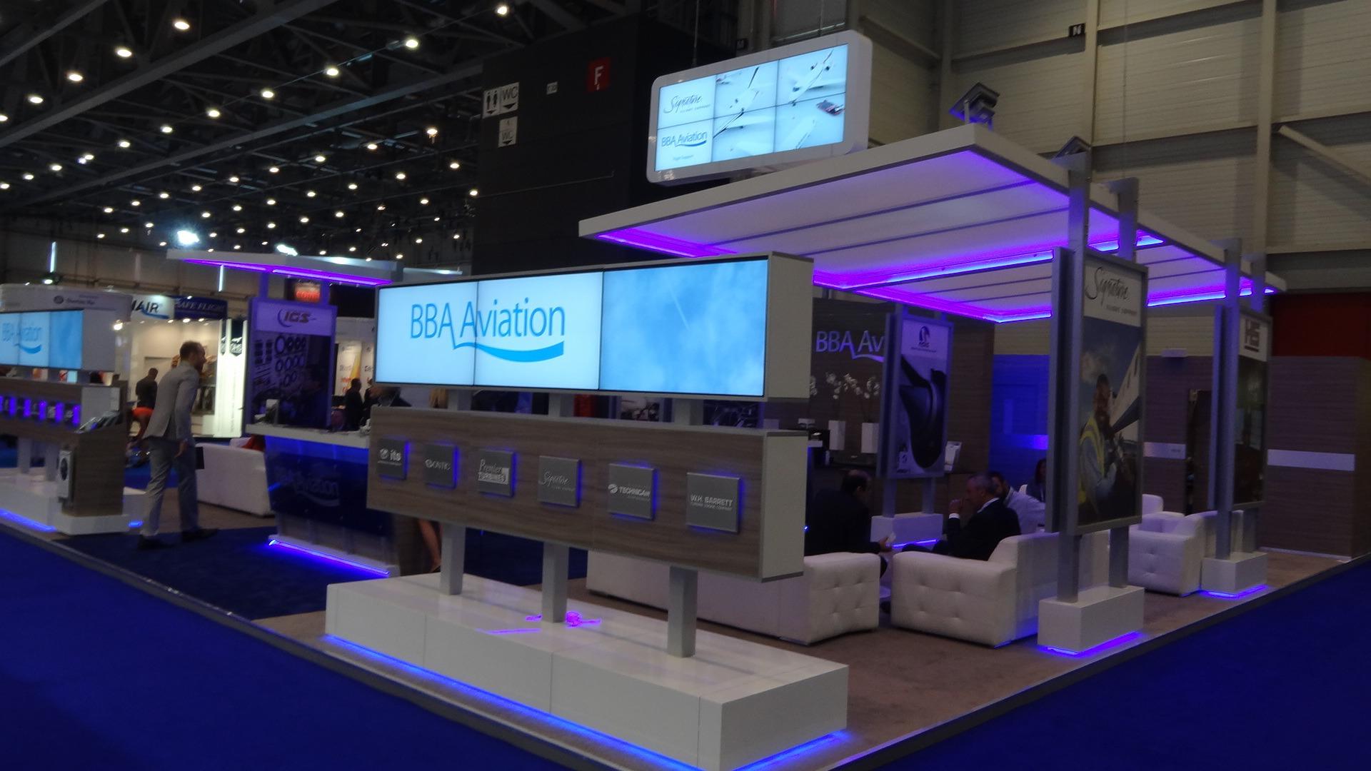 Custom exhibition stand design company