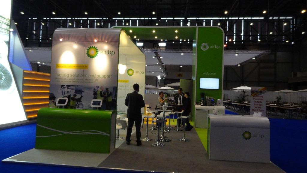 Portable exhibition stands design company