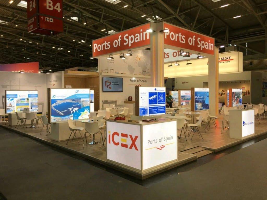 custom exhibition stand builders
