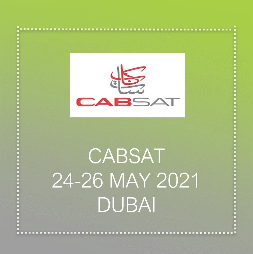 Cabsat 2021 In Dubai