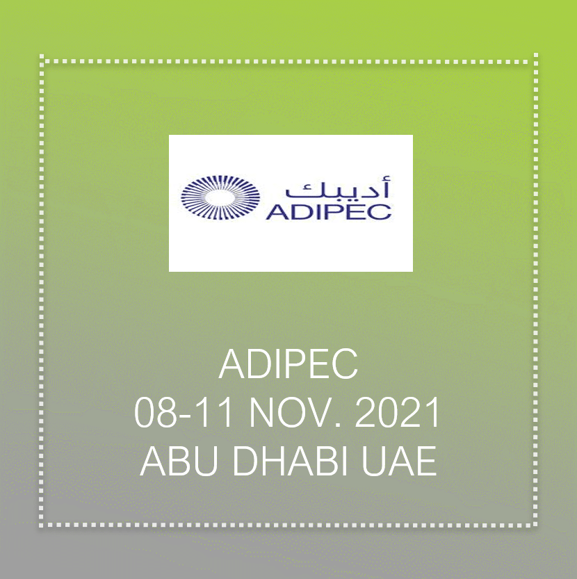 Adipec Tread show In Abu Dhabi