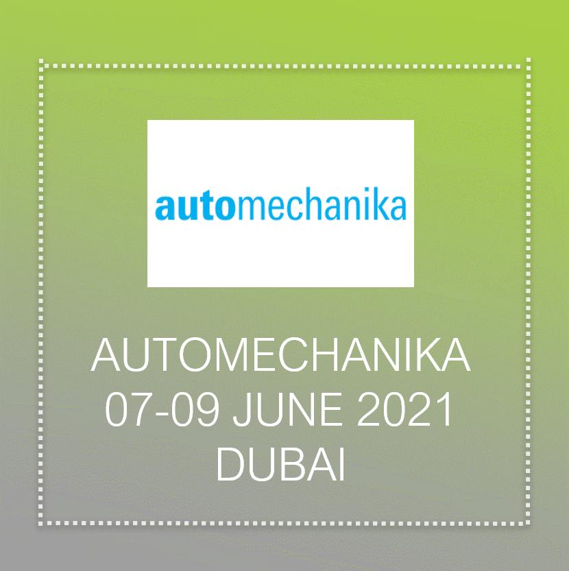 Auto Mechanika exhibition in Dubai