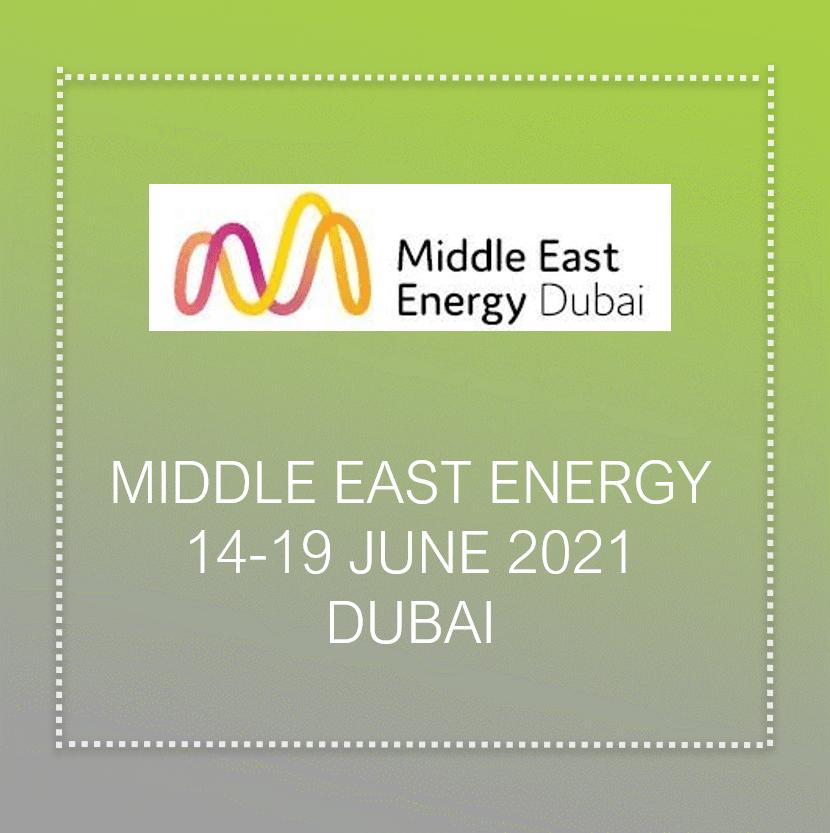 Middle east energy 2021 In Dubai