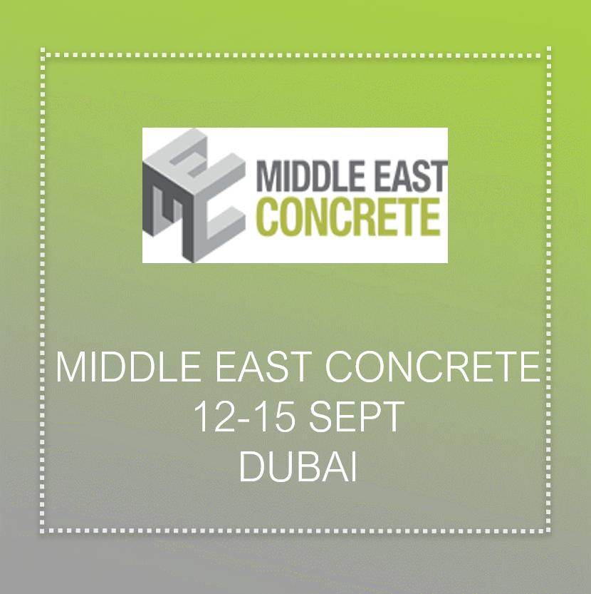 Concrete tread show In Dubai