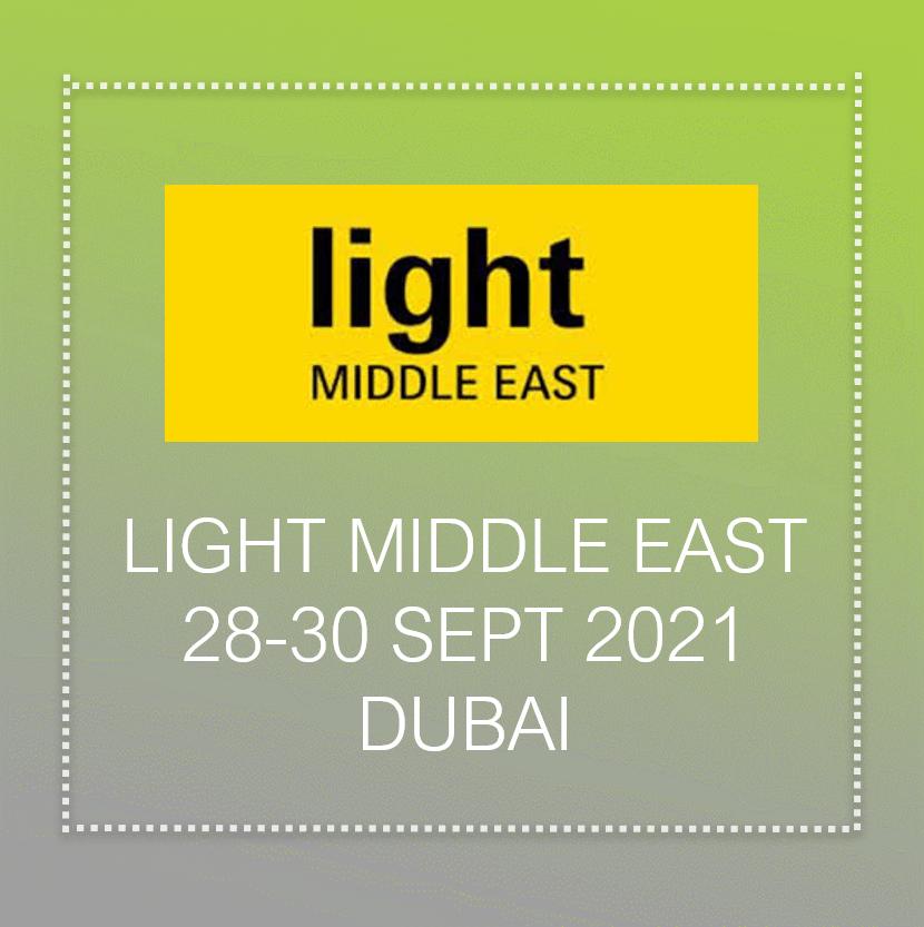 Light Middle east 2021 In Dubai
