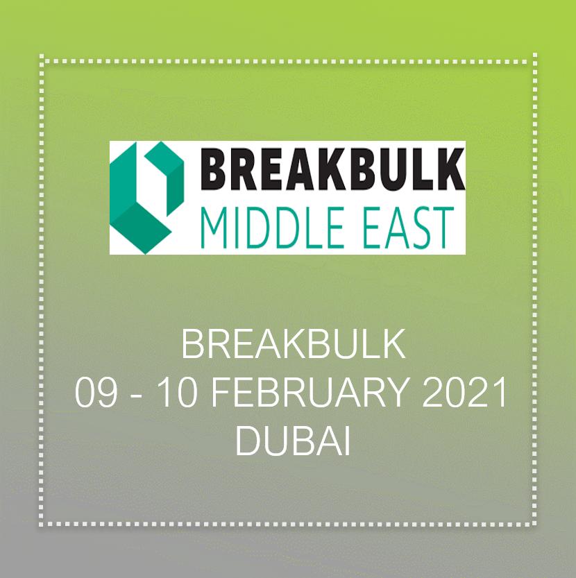 breakbulk middle east 2021 in Dubai