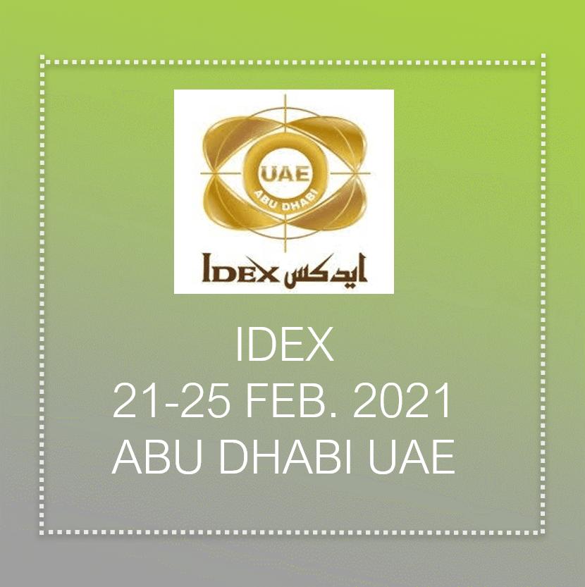 Idex 2021 in Dubai