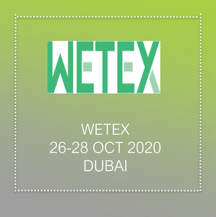 Wetex 2021 in Dubai