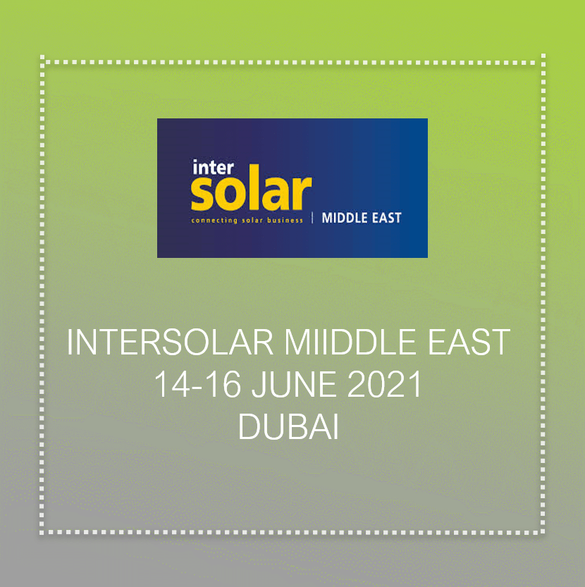 Inter solar meddle east in dubai 2021