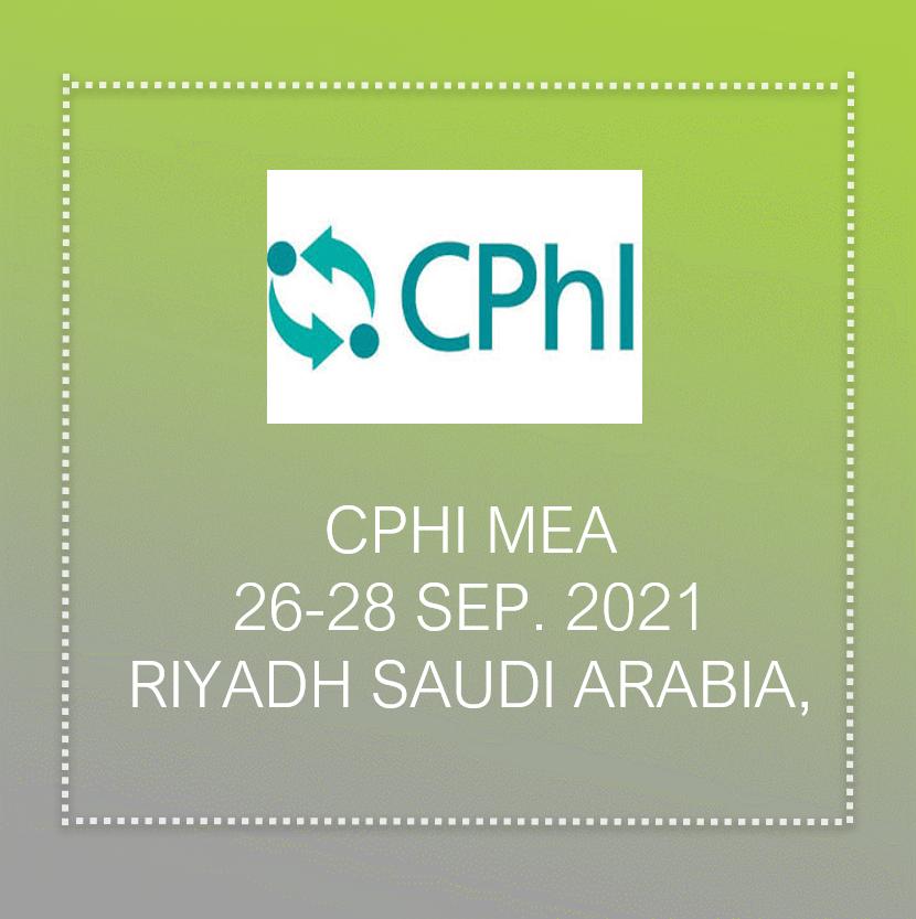 Cphi exhibition in Saudi arabia
