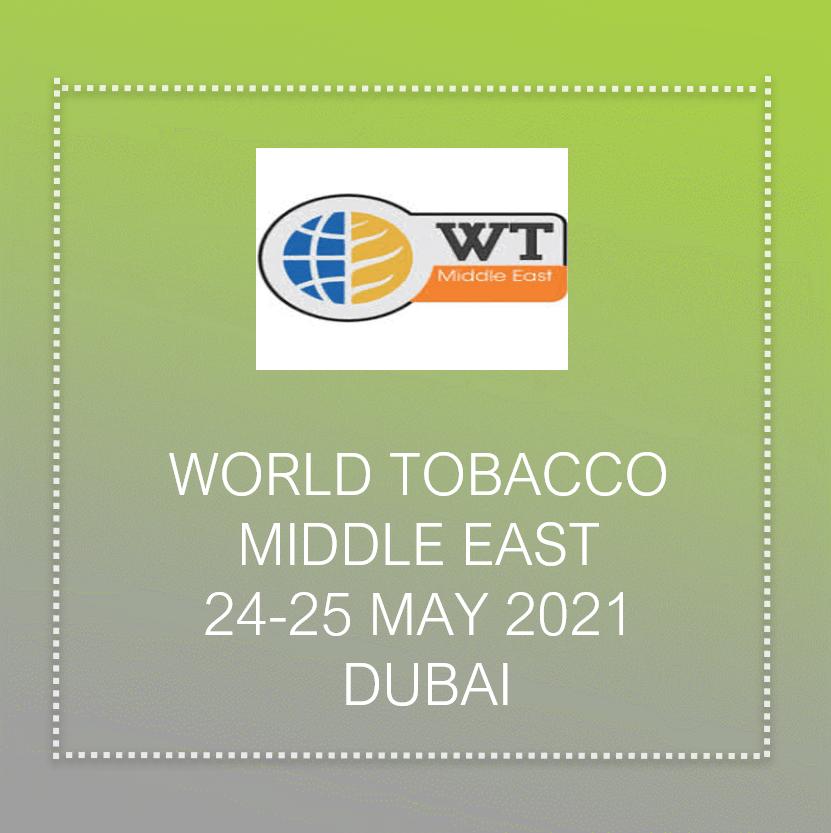 World Tobacco meddle East 2021 in Dubai