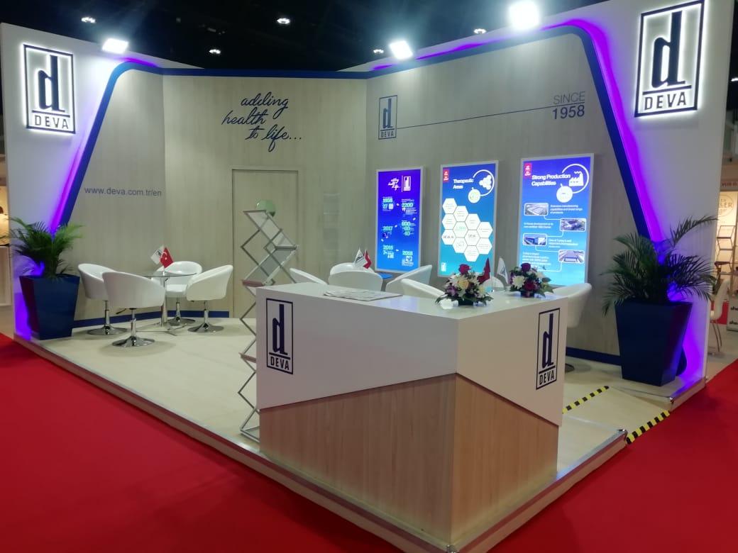 trade show booth design in DUBAI