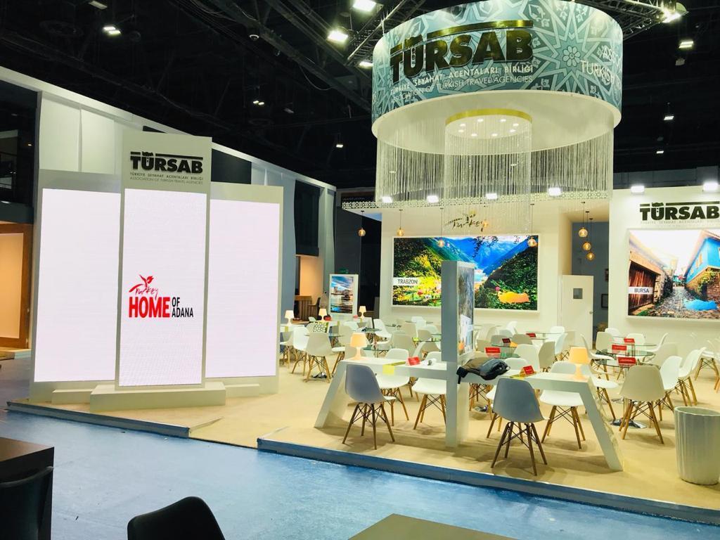 Exhibitions stand company in DUBAI