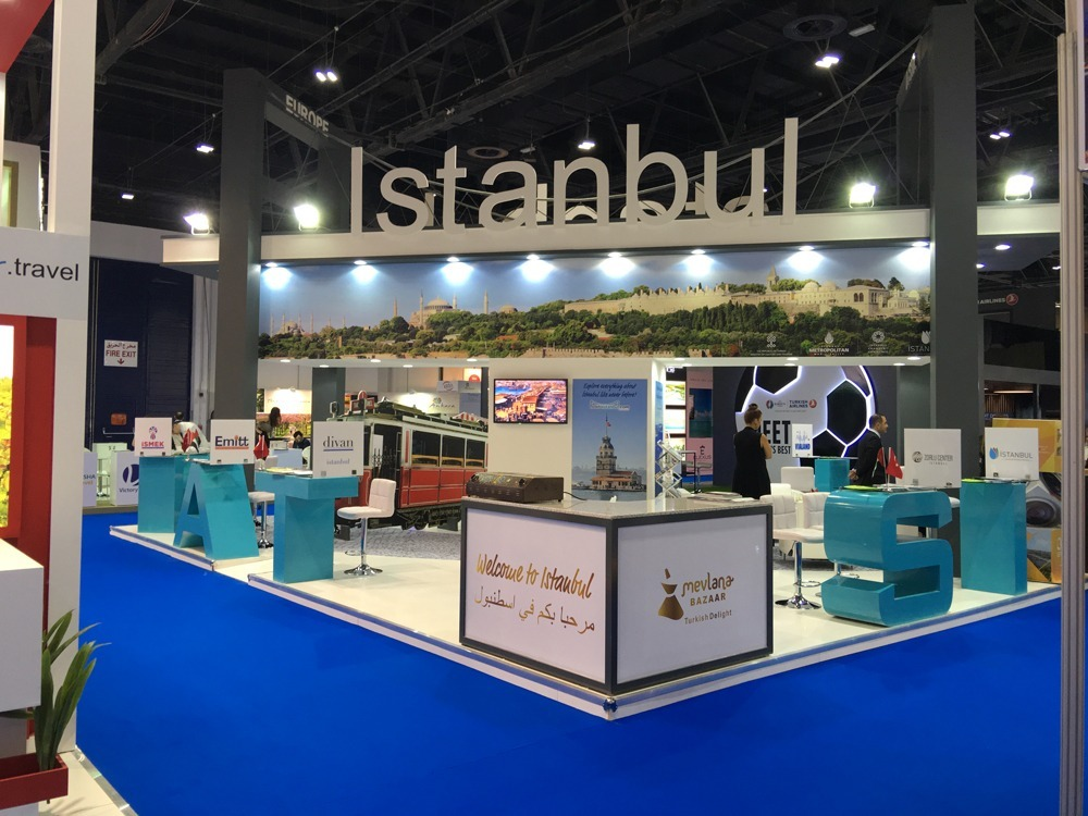 country pavilion exhibition stands In Germany