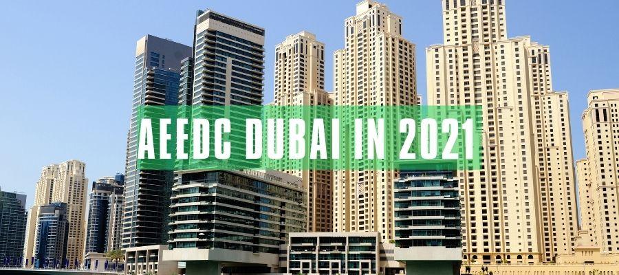 AEEDC Dubai in 2021