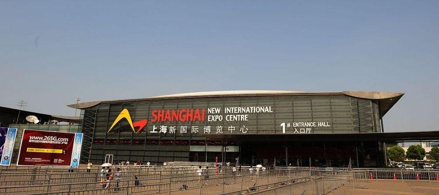 trade show center in Shanghai